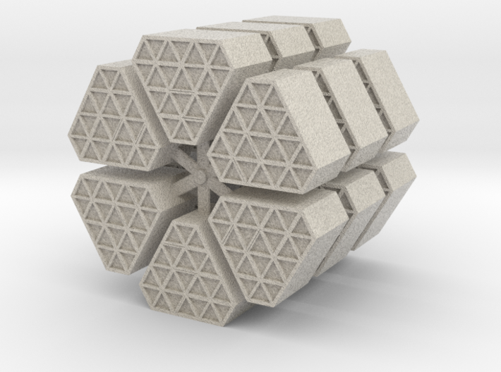 DSC Cargo Containers 3d printed