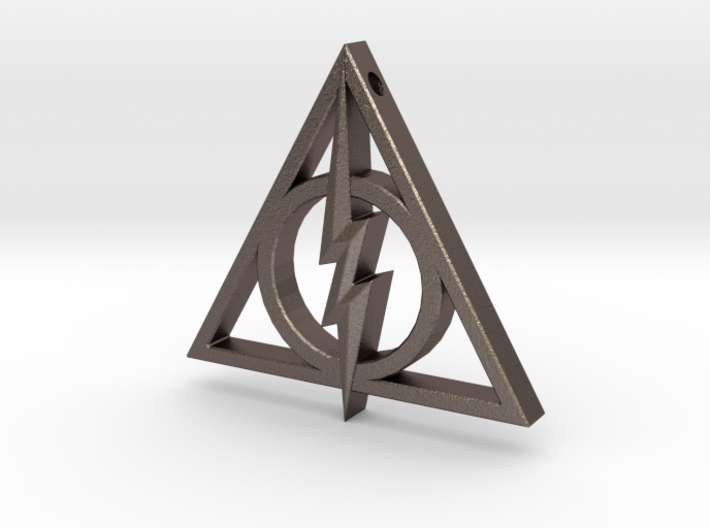 Deathly Hallows - Lightning Bolt 3d printed