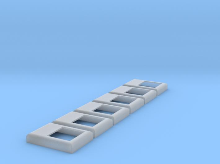SD40-2 / F45 Winterization Hatch (HO - 1:87) 6X 3d printed