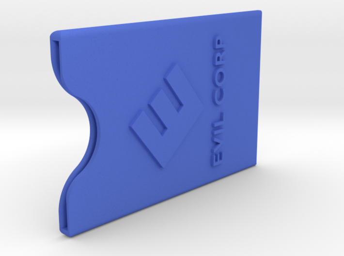 EVIL-CORP creditcard case 3d printed
