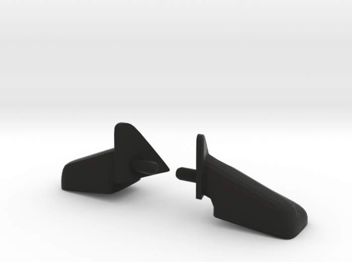 Side Mirrors for Axial Ram Power Wagon SCX10 3d printed