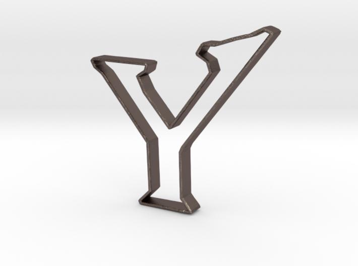 Typography Pendant Y 3d printed