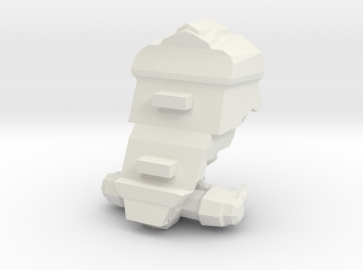 Legion - 002 Torso - 03 Augmented Plating 3d printed