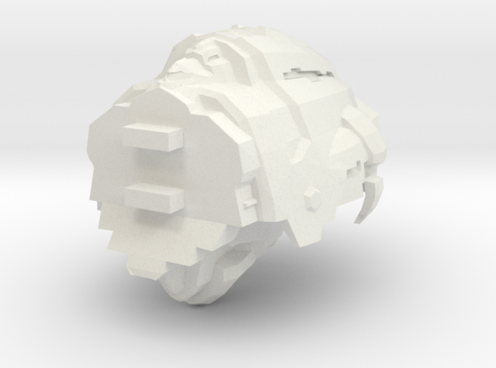 Legion - 003 Torso - 04 Supplemental Coolant Injec 3d printed