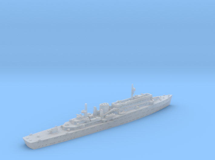 German Submarine-Tender Wilhelm Bauer 1/1800  3d printed