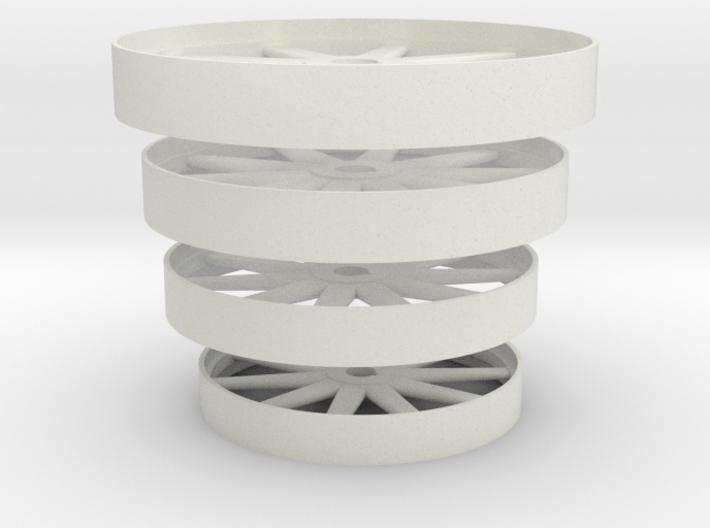 Steam Era Flywheels - 4 sizes 3d printed