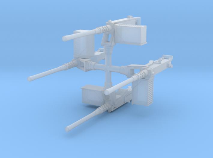 EQ15 M2 on M25 Pedestal Mount (1/48) 3d printed