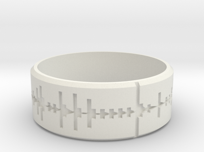 Amen, Brother - Amen Break Ring (size R 1/2) 3d printed