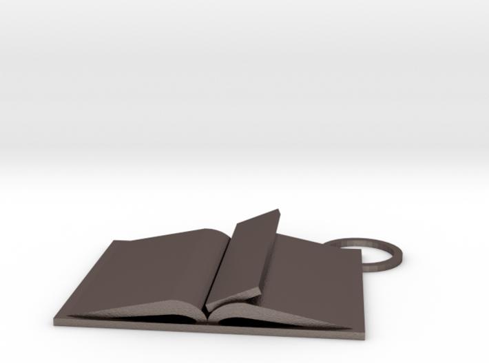 Book Keychain Custom 3d printed