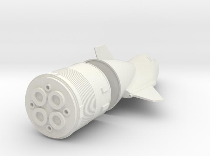 1/72 MIG 105 SPIRAL SOVIET SPACE PLANE - ON ORBIT 3d printed