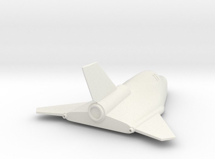 1/72 MIG 105 SPIRAL SOVIET SPACE PLAN - REENTRY 3d printed
