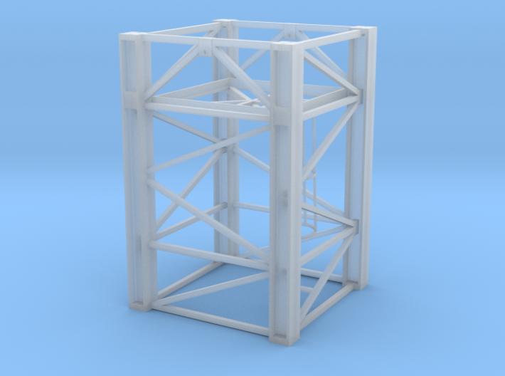 Wolff tower element type Tv33-5 1/87 3d printed