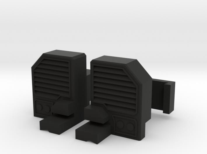 Combiner Wars Menasor Shoulder Pad Lock 3d printed