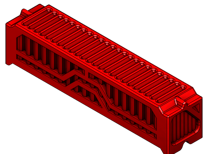 6mm 40Ft Shipping Container 3d printed