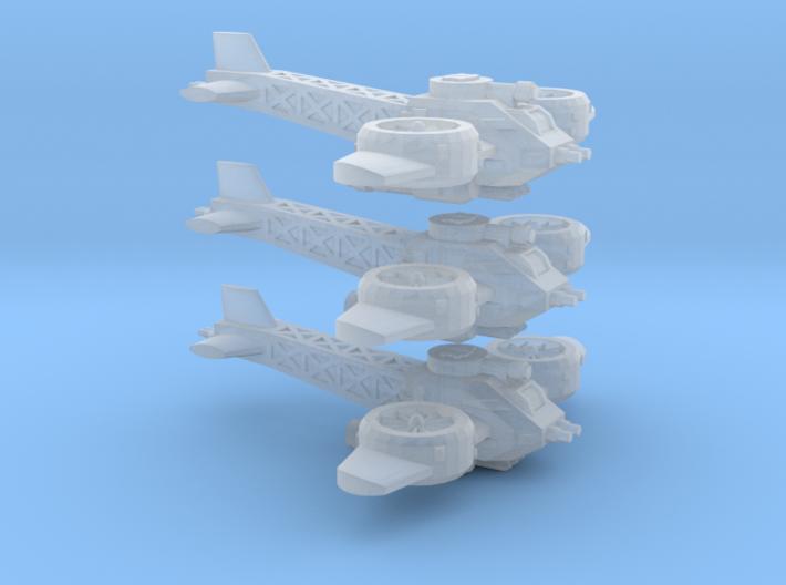 6mm Space Dwarf Gyrocopter (3pcs) 3d printed
