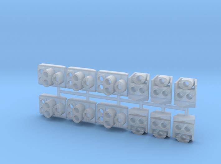 SP Original Headlight Cluster Pack (N - 1:160)(6X) 3d printed