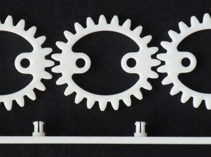 Elliptical Gear Toy 3 3d printed