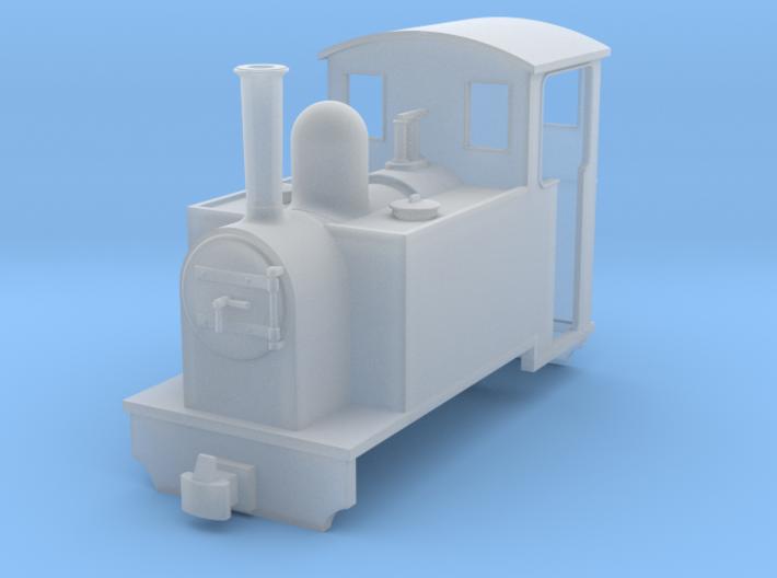 009 Small sidetank loco to fit Tsugawa TU-KOPPEL A 3d printed