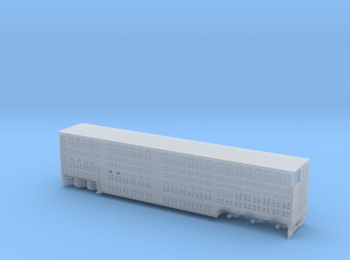 1/160 Trippel Axel Cattle Semi Trailer 3d printed