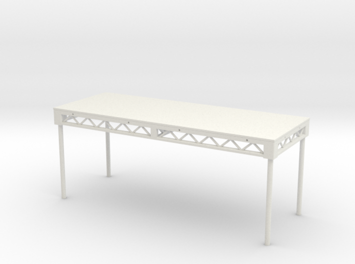 1:25 Platform 8x3, with legs 3d printed