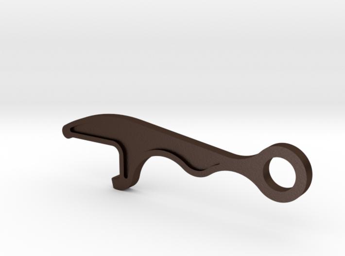 Bottle Opener Keychain 3d printed