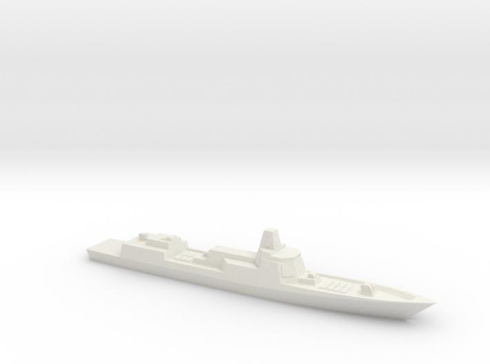 PLA[N] 055 Destroyer (2014 Speculation), 1/3000 3d printed