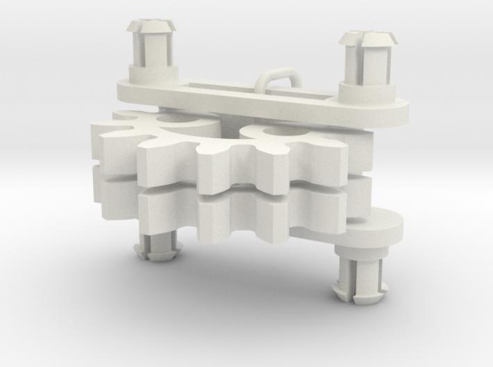 Elliptical Gear Toy (small) 3d printed