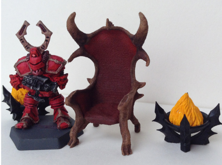Demon Throne 3d printed