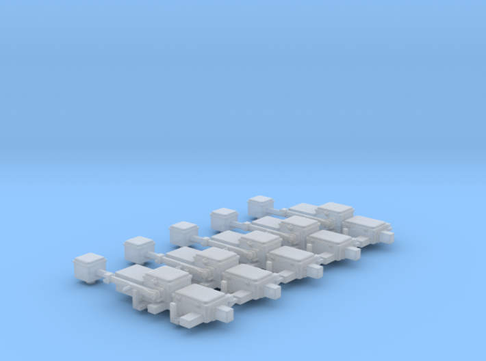HO Scale Switch Machines M23 3d printed