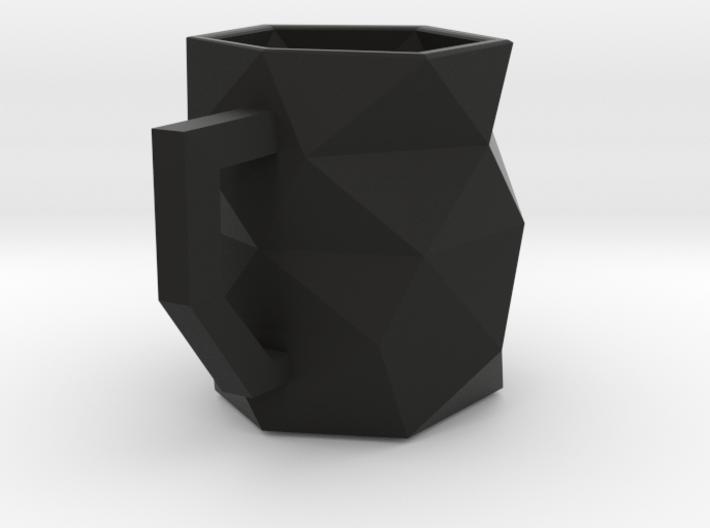 Geo Mug 3d printed