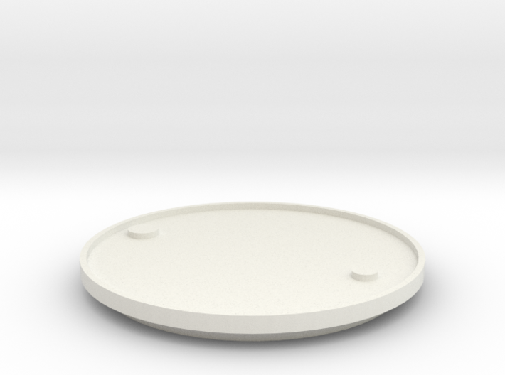 1/14 Scale Lid For 205 Ltr Drum (54 Gal) 3d printed