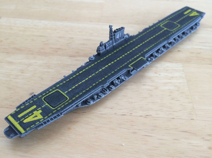 1/1800 USS Midway CV-41 3d printed Expertly painted by Darkbringer