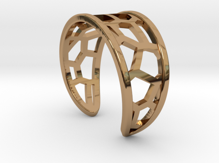 Ring of lover's brige 3d printed