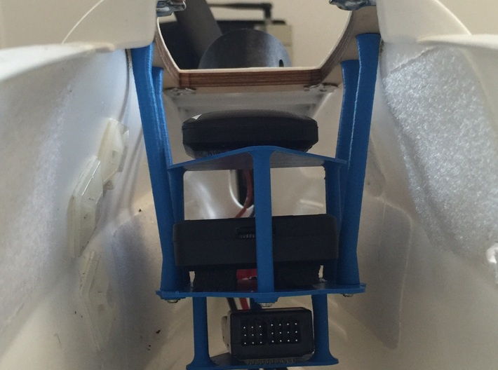Autopilot. GPS. Rx. Tray for Ranger EX Drone 3d printed