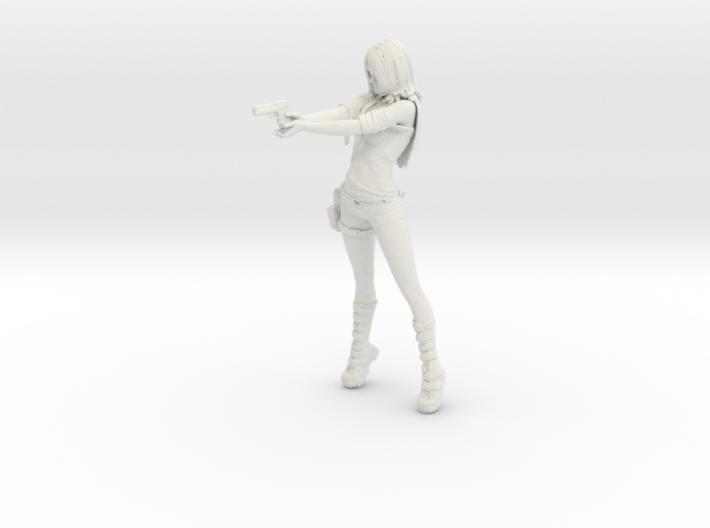 Rei: Zombie Hunter [Rei Saga] model kit 3d printed