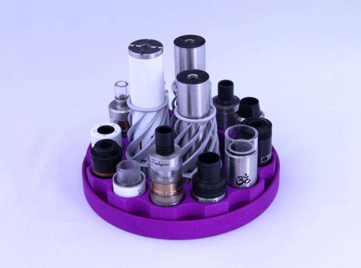 TriCyclone Vape Stand: Single Cyclone 3d printed Fully Built and Stocked