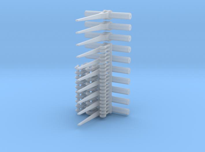 Ratcheting Load Binder set of 10 (1/24 scale) 3d printed