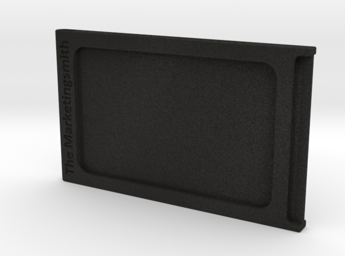 Branded Compact ID and Credit Card Holder 3d printed