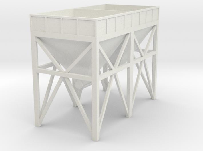 N Scale Aggregate Hopper 2 3d printed