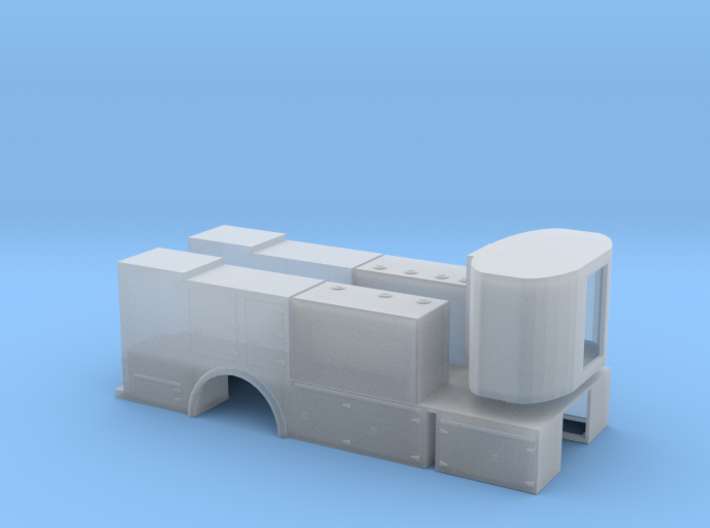 1/87th Fuel Lube Service Body 3d printed