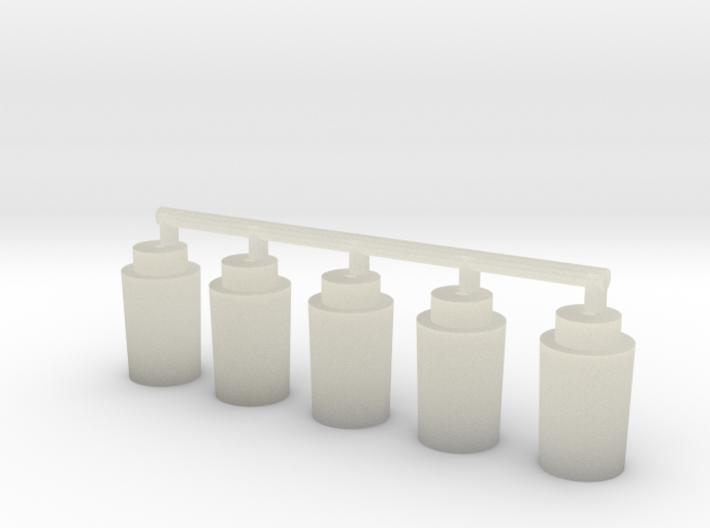 Magnet Locators (bomber pegs) x5 3d printed