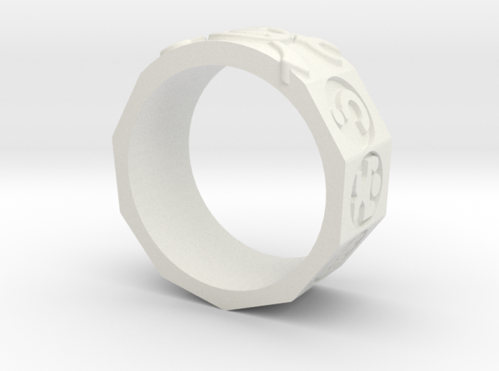 AdventureRing215 3d printed