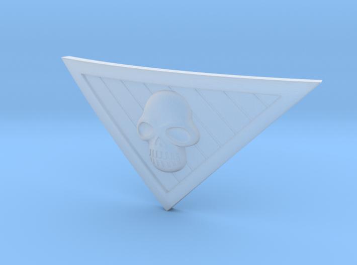 Phantom Belt Buckle 3d printed