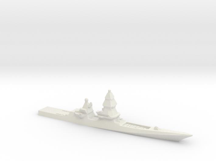 Project 23560E Shkval Destroyer, 1/1800 3d printed