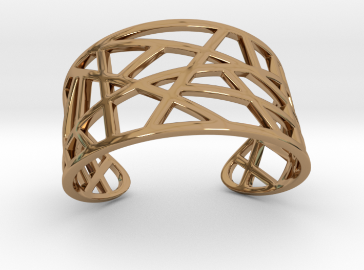 POLLY cuff bracelet 3d printed