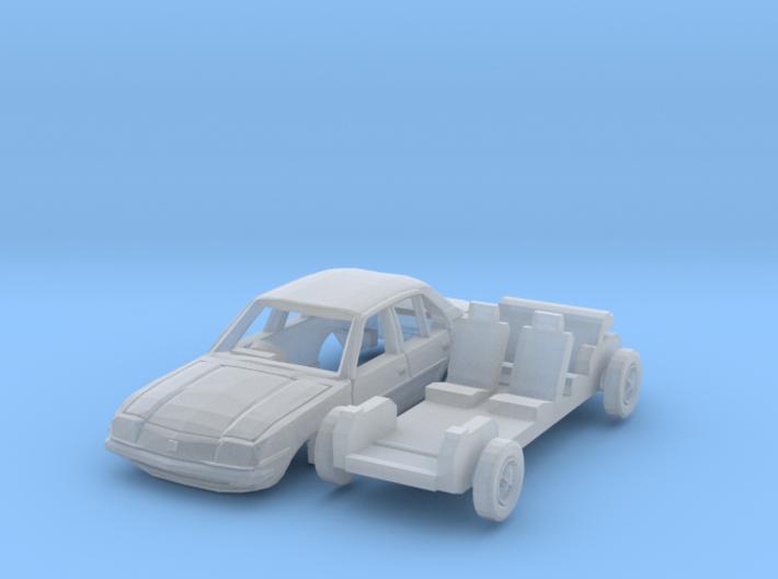 Vauxhall Cavalier Mk1 (British N 1:148) 3d printed