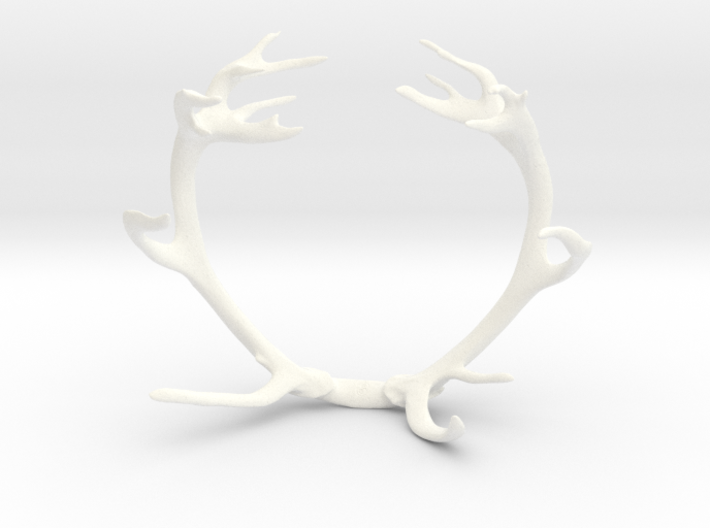 Red Deer Antler Bracelet 90mm 3d printed