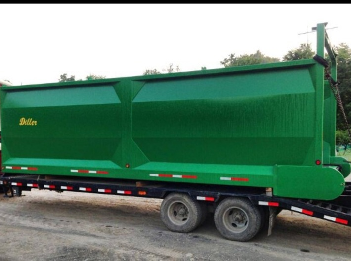 1/64 Diller Silage box 24' 3d printed