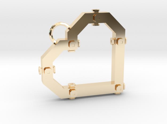 Construx Heart 3d printed