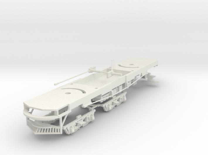#87-2501 Interurban Box Motor frame 3d printed